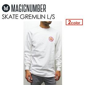 〔あす楽対応〕Magic Number,マジックナンバー,Tシャツ,ロンT,長袖,Jim Philips●SKATE GREMLIN L/S 17AW-1010