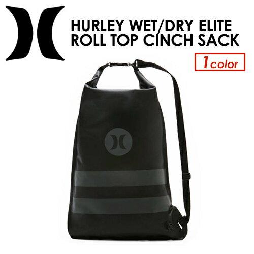 〔あす楽対応〕Hurley,ハーレー,バッグ,防水,ウェットバッグ●HURLEY WET/DRY ELITE ROLL TOP CINCH SACK HZQ055