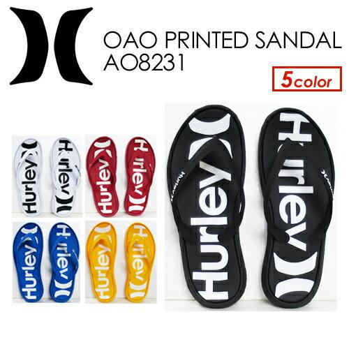 Hurley,ハーレー,O&O,サンダル,18su●Hurley OAO PRINTED SANDAL AO8231