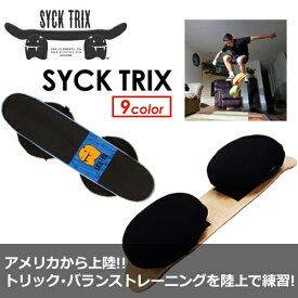 【送料無料】バランスボード,サーフィン,スケートボード,トリック,クリス・ワード●SYCK TRIX シックトリックス