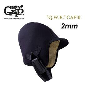 〔あす楽対応〕SURFGRIP,サーフグリップ,サーフィン,防寒対策,ヘッドキャップ,18fw,sale●2mm Q.W.R. CAP-II