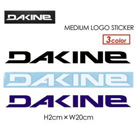 〔あす楽対応〕DAKINE,ダカイン,ステッカー,メール便対応可●MEDIUM LOGO STICKER カッティングタイプ 20cm DOO-S02