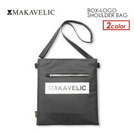 あす楽 MAKAVELIC マキャベリック バッグ サコッシュ ポーチ CORDURA,sale●BOX-LOGO SHOULDER BAG