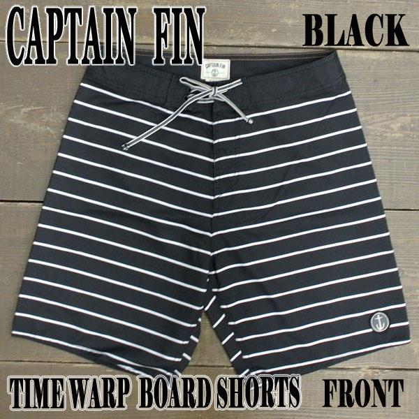 CAPTAIN FIN/キャプテンフィン TIME WARP BOARDSHORTS BLACK 男性用水着_海パン/海水パンツ サーフパンツ ボードショーツ