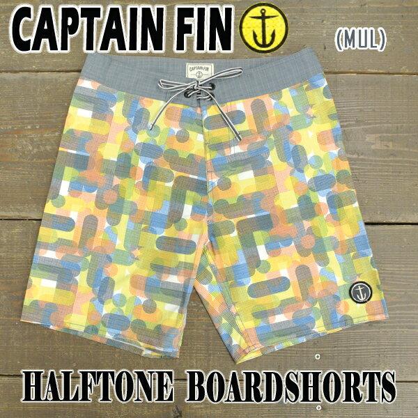 値下げしました!CAPTAIN FIN/キャプテンフィン HALFTONE BOARDSHORTS MULTI 男性用 サーフパンツ ボードショーツ 海パン 水着_02P01Oct16