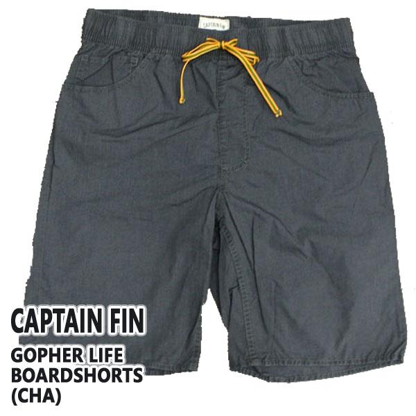 値下げしました!CAPTAIN FIN/キャプテンフィン GOPHER BOARDSHORTS CHA 男性用 サーフパンツ ボードショーツ_02P01Oct16