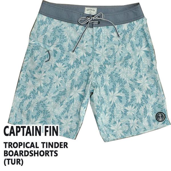 値下げしました!CAPTAIN FIN/キャプテンフィン TROPICAL TINDER BOARDSHORTS TUR 男性用 サーフパンツ ボードショーツ_02P01Oct16