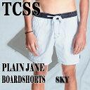 TCSS/The Critical Slide Society PLAIN JANE TRUNK SKY 水陸両用ハイブリッドタイプ_サーフィン男性用水着_海パ...