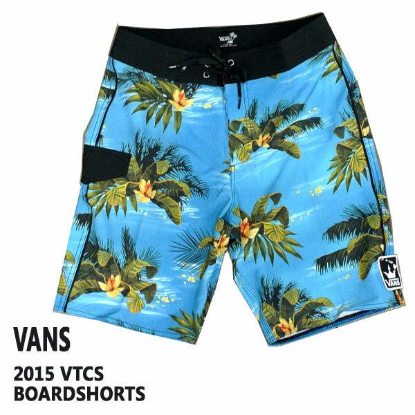 値下げしました!サーフパンツ ボードショーツ VANS/バンズ 2015VTCS BOARDSHORTS 男性用_02P01Oct16