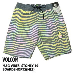 値下げしました!VOLCOM/ボルコム MAG VIBES STONEY 19 BOARDSHORTS MLT 男性用 サーフパンツ ボードショーツ
