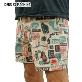 DEUS EX MACHINA/デウスエクスマキナ UNSHORE BOARDSHORTS MULTI 男性用 サーフパンツ MENS トランクス ボードショーツ 水着 海パンメンズ 82668A