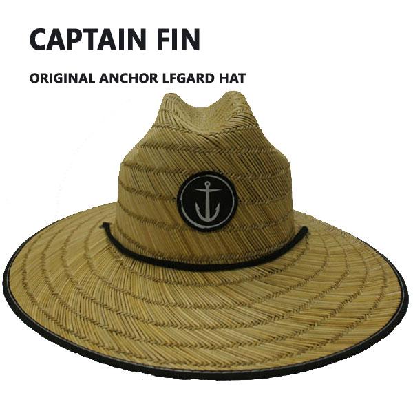 CAPTAIN FIN/キャプテンフィン ORIGINAL ANCHOR LFGARD STRAW HAT/ハット 帽子 日よけ 麦わら帽子 ストローハット