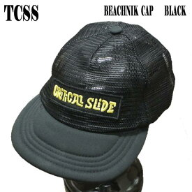 値下げしました!TCSS/ザクリティカルスライドソサイエティ BEACHNIK CAP BLACK CAP/キャップ HAT/ハット 帽子