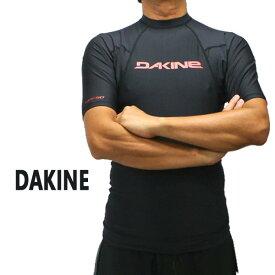 DAKNE/ダカイン メンズ半袖ラッシュガード HEAVY DUTY SNUG FIT S/S RASHGUARD BLACK UPF50+ 男性用水着 UVカット 19