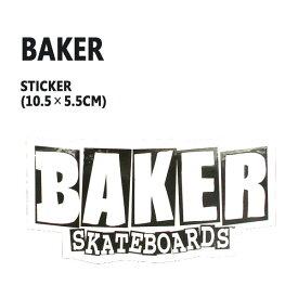 BAKER/ベイカー BAKER LOGO S BLACK STICKER/ステッカー シール スケボー