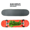 BLIND/ブラインド コンプリートスケートボード/スケボー ATHLETIC SKIN V2 RED/GREEN 8.0 送料無料 SKATEBOARDS スケ…