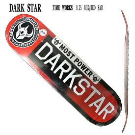移転セール!値下げしました!DARK STAR/ダークスター スケートボードデッキ TIMEWORKS RHM BLACK/REDFADE 8.25 DECK スケボーSK8