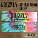 GRIZZLY/グリズリー【REVERSE TIEDYE STAMP】 9x33 グリップテープ/デッキテープ スケートボードデッキ用/DECK スケボーSK8