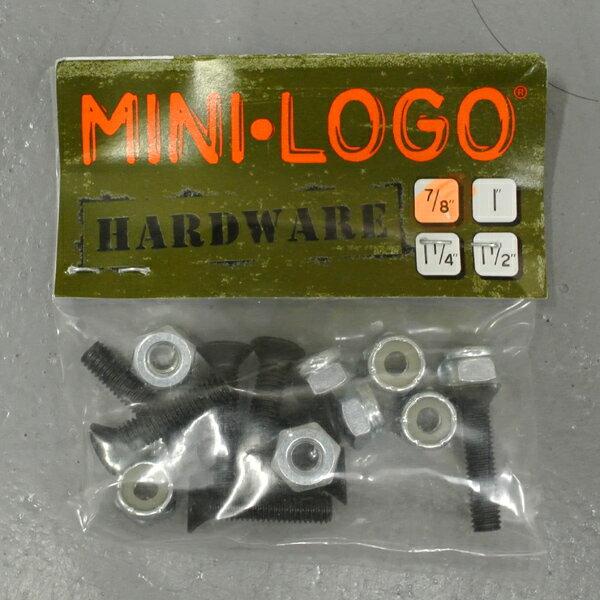 MINI-LOGO/ミニロゴ POWELL/パウエル系 HARD WARE/ハードウェア +プラス ボルト/ビス/ナット スケートボード用パーツ スケボーSK8_02P01Oct16