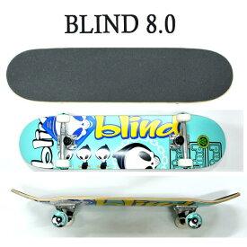 BLIND/ブラインド コンプリートスケートボード/スケボー TANTRUM TEAL 8.0 SK8 [返品、交換及びキャンセル不可]