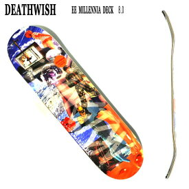 DEATHWISH/デスウィッシュ EE MILLENNIA 8.0 DECK ERIK ELLINGTONシグネーチャーモデル スケートボード/スケボーデッキ SK8