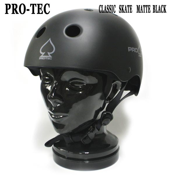 PRO-TEC/プロテック CLASSIC SKATE HELMET MATTE BLACK スケートヘルメット SKATEBOARDS SK8用 大人用