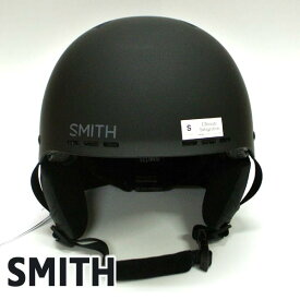 SMITH/スミス HOLT SNOW HELMETS ヘルメット MATTE BLACK SNOWBOARDS スノボ用 大人用 雪山 20-21モデル [返品、交換及びキャンセル不可]