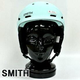 SMITH/スミス MIRAGE SNOW HELMETS ヘルメット MATTE PALE MINT WOMENS/女性用 SNOWBOARDS スノボ用 大人用 雪山 [返品、交換及びキャンセル不可]