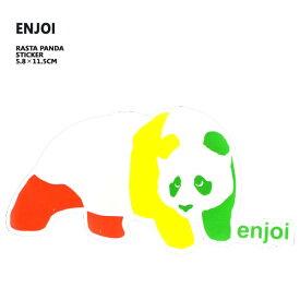 ENJOI/エンジョイ STICKER/ステッカー RASTA PANDA_02P01Oct16