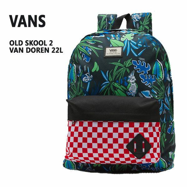 VANS/バンズ ヴァンズ OLD SKOOL 2 BACKPACK VAN DORENモデル 鞄 リュック バックパック_02P01Oct16