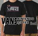 値下げしました!VANS/バンズ NINTENDO S/S TEE BLACK メンズ Tシャツ 男性用 T-shirts 半袖_02P01Oct16