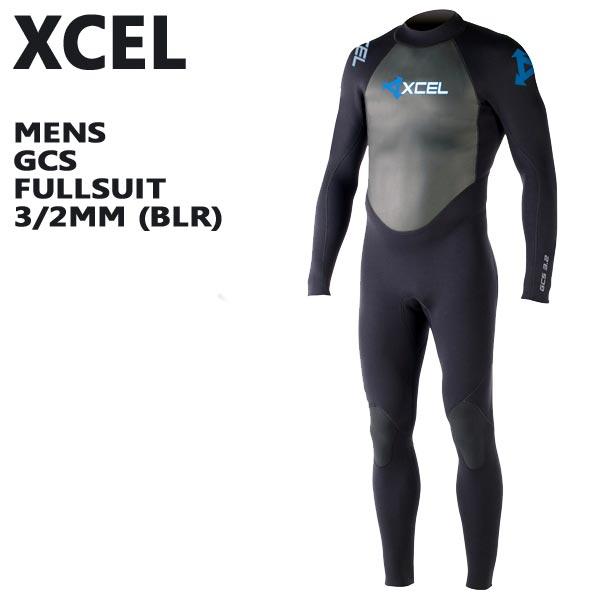 XCEL/エクセル フルスーツ GCS 3/2mm FULLSUIT BLR BACK ZIP WET SUITS/ウェットスーツ 送料無料 男性用サーフィン用_02P01Oct16