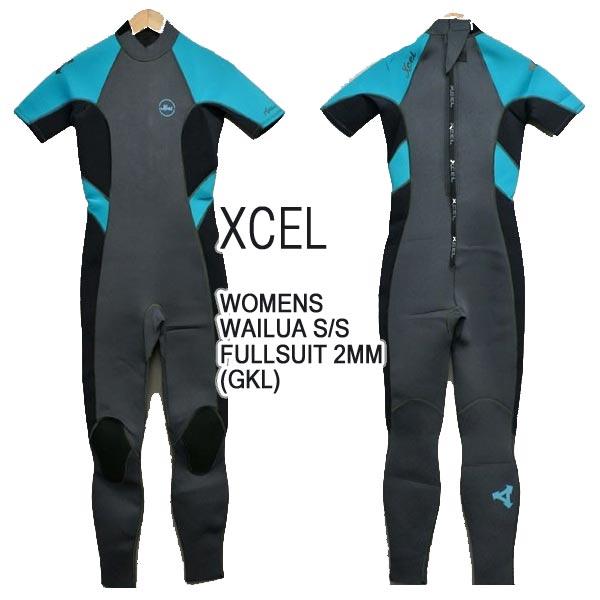 XCEL/エクセル レディースシーガル A-LINE WAILUA AXIS 2mm S/S FULLSUIT GKL BACK ZIP WET SUITS/ウェットスーツ 送料無料 女性用サーフィン用_02P01Oct16