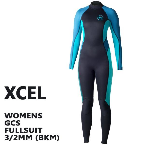 XCEL/エクセル レディースフルスーツ GCS 3/2mm FULLSUIT BKM BACK ZIP WET SUITS/ウェットスーツ 送料無料 女性用サーフィン用_02P01Oct16