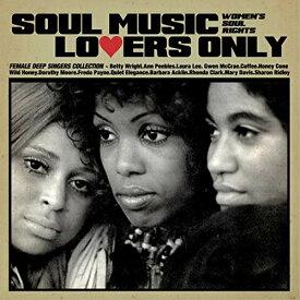 【取寄商品】 CD/SOUL MUSIC LOVERS ONLY - WOMEN'S SOUL RIGHTS - FEMALE DEEP SINGERS COLLECTION (日本語解説付) (期間限定価格盤)/オムニバス/UVSL-2