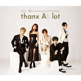 CD/AAA 15th Anniversary All Time Best -thanx AAA lot- (4CD(スマプラ対応)) (通常盤)/AAA/AVCD-96453
