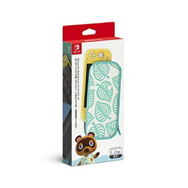 【お取り寄せ】 ニンテンドー/Nintendo Switch Liteキャリングケース あつまれ どうぶつの森エディション ~たぬきアロハ柄~(画面保護シート付き)/NintendoSwitchパーツ