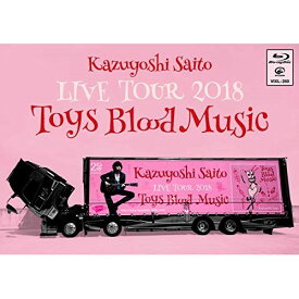 BD/斉藤和義 LIVE TOUR 2018 Toys Blood Music Live at 山梨コラニー文化ホール 2018.6.2(Blu-ray)/斉藤和義/VIXL-260