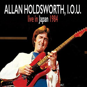★CD/LIVE IN JAPAN 1984/アラン・ホールズワース,I.O.U./MFO-46516J