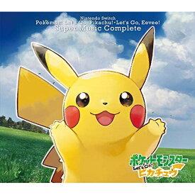 【取寄商品】 CD/Nintendo Switch ポケモンLet's Go! ピカチュウ・Let's Go! イーブイ スーパーミュージック・コンプリート/ゲーム・ミュージック/OVCP-9