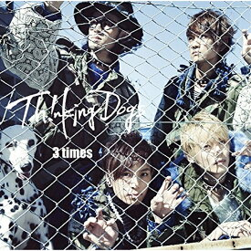 CD/3 times (通常盤)/Thinking Dogs/SRCL-8909