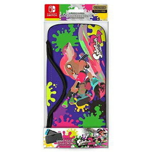 ニンテンドー/Nintendo Switchパーツ/QUICK POUCH COLLECTION for Nintendo Switch(splatoon2)Type-A/CQP-001-1