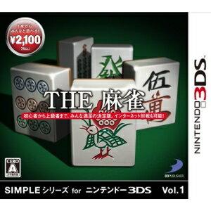 【取寄商品】 ニンテンドー/SIMPLEシリーズ for ニンテンドー3DS Vol.1 THE 麻雀/3DSソフト/CTR-P-AAUJ