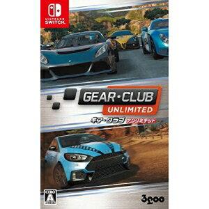 【取寄商品】 ニンテンドー/GEAR・CLUB Unlimited/Nintendo Switchソフト/HAC-P-AD79B