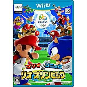 ニンテンドー/Wii Uソフト/マリオ&ソニック AT リオオリンピック/WUP-P-ABJJ