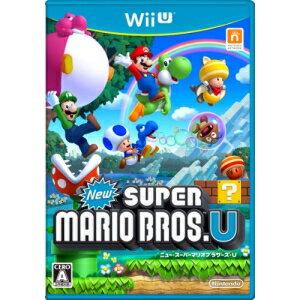 【取寄商品】 ニンテンドー/New スーパーマリオブラザーズ U/Wii Uソフト/WUP-P-ARPJ