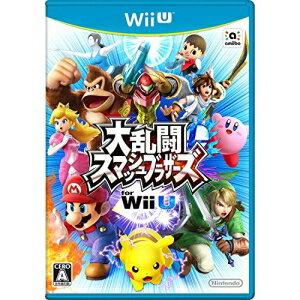 【取寄商品】 ニンテンドー/大乱闘スマッシュブラザーズ for Wii U/Wii Uソフト/WUP-P-AXFJ