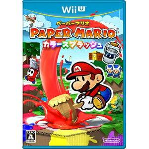 【取寄商品】 ニンテンドー/ペーパーマリオ カラースプラッシュ/Wii Uソフト/WUP-P-CNFJ