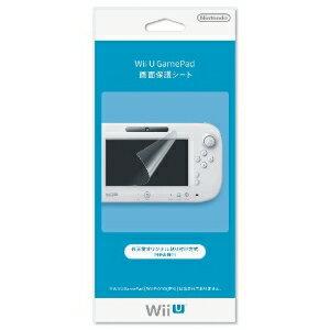 ニンテンドー/Wii Uパーツ/Wii U GamePad 画面保護シート/WUP-A-SHAA