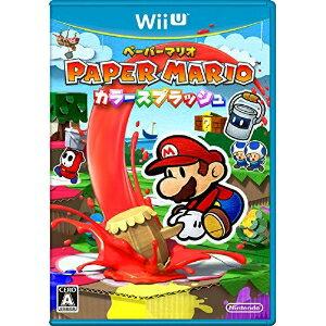 ニンテンドー/Wii Uソフト/ペーパーマリオ カラースプラッシュ/WUP-P-CNFJ